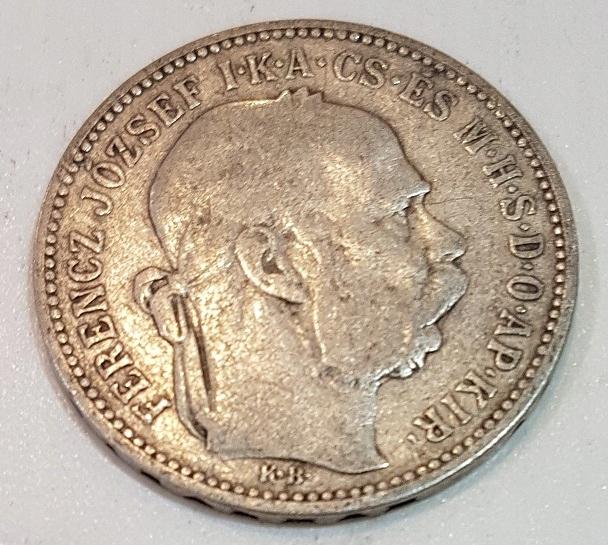 1 KORONA 1894 r AUSTRO-WĘGRY