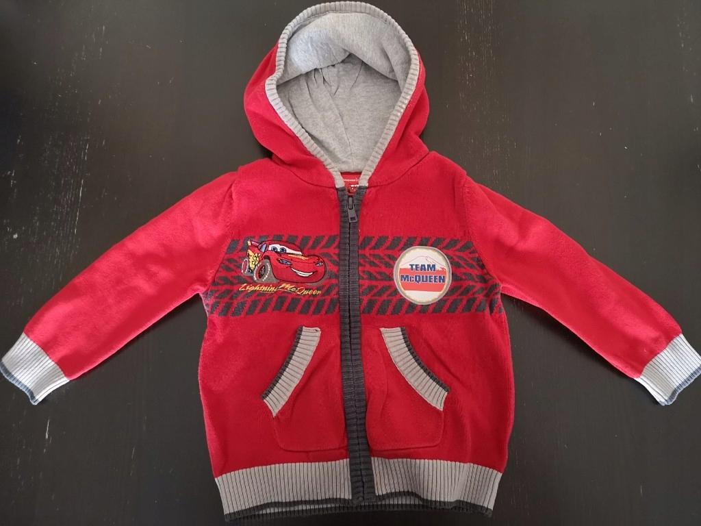 sweterek 81/86cm 1-1,5l + kurtka wiatrówka 1-2lat