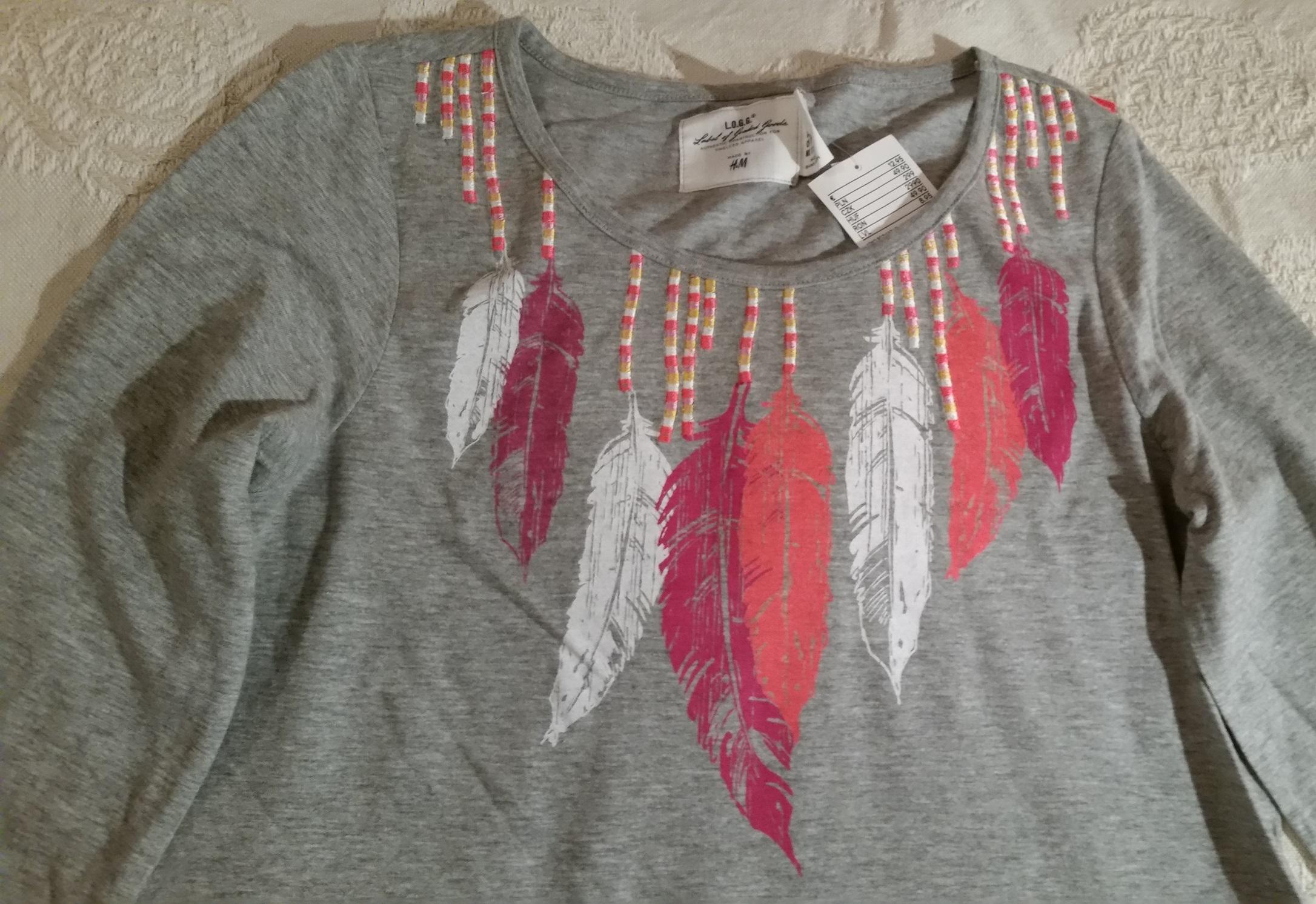 H&M HandM bluzka bluzeczka tunika nowa r. 170