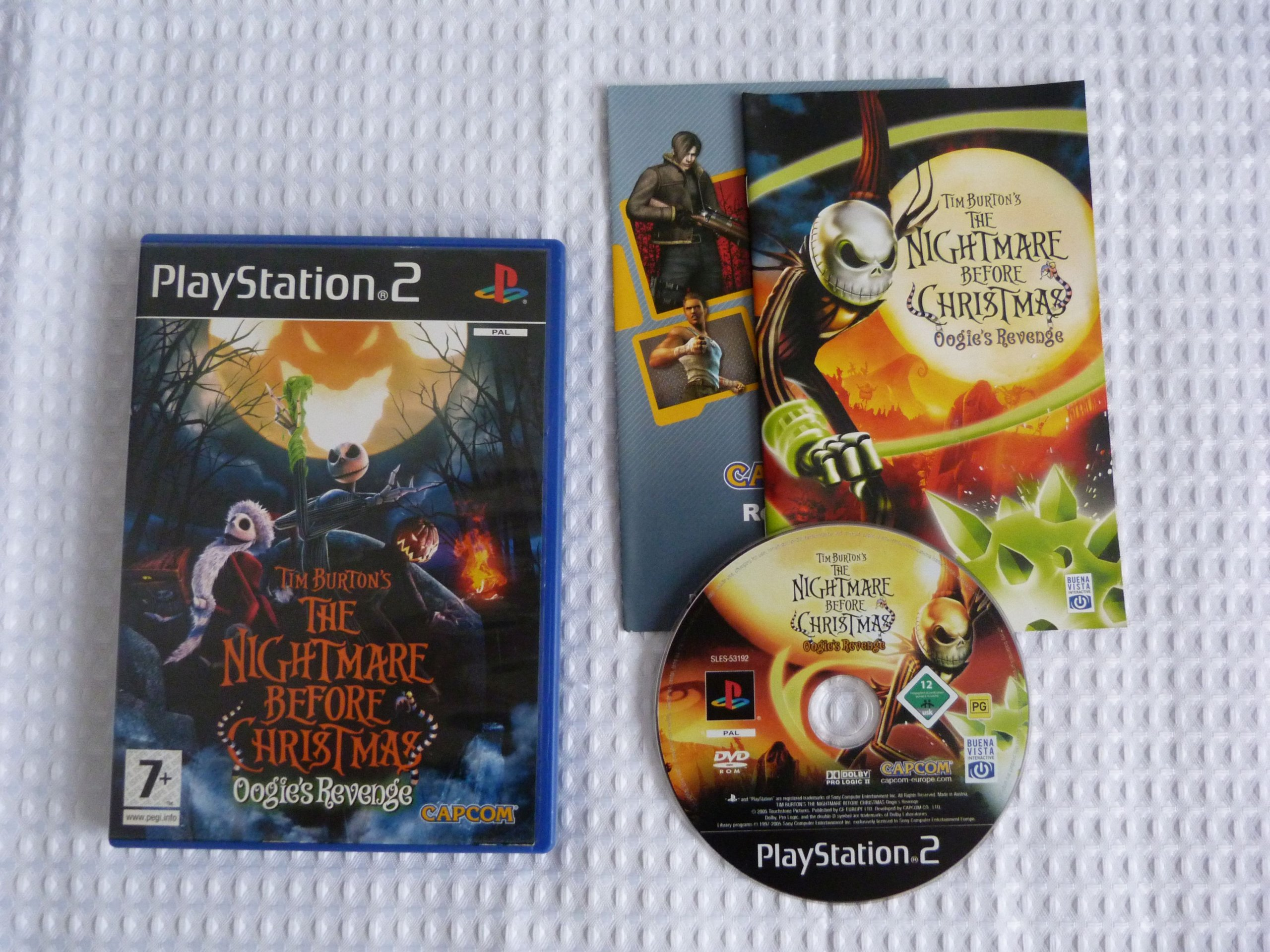 TIM BURTON\'S THE NIGHTMARE BEFORE CHRISTMAS PS2 - 7282240960 ...