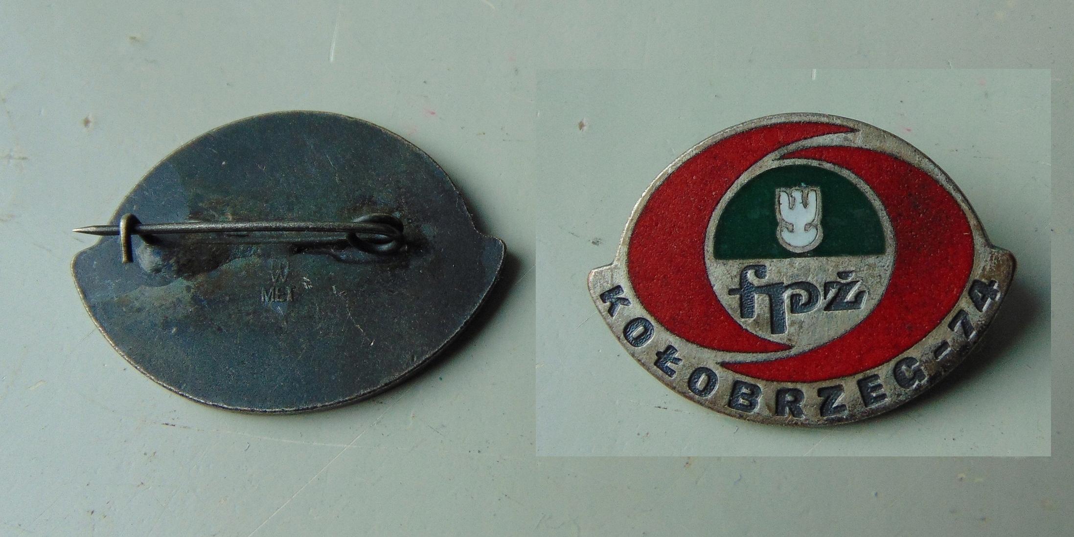 Odznaka FPŻ Kołobrzeg