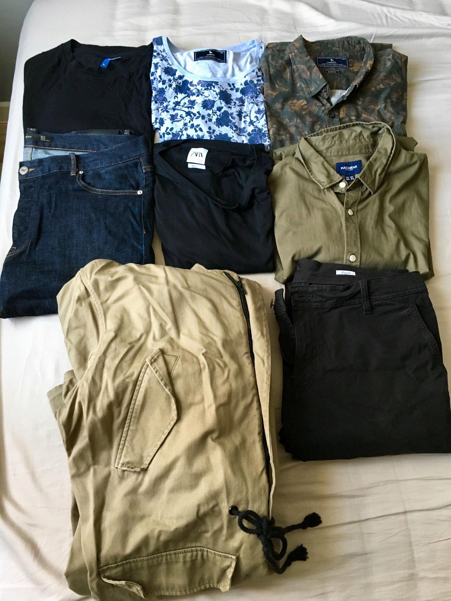 Zestaw ubrań męskich:Zara,Medicine,H&M XL-XXL