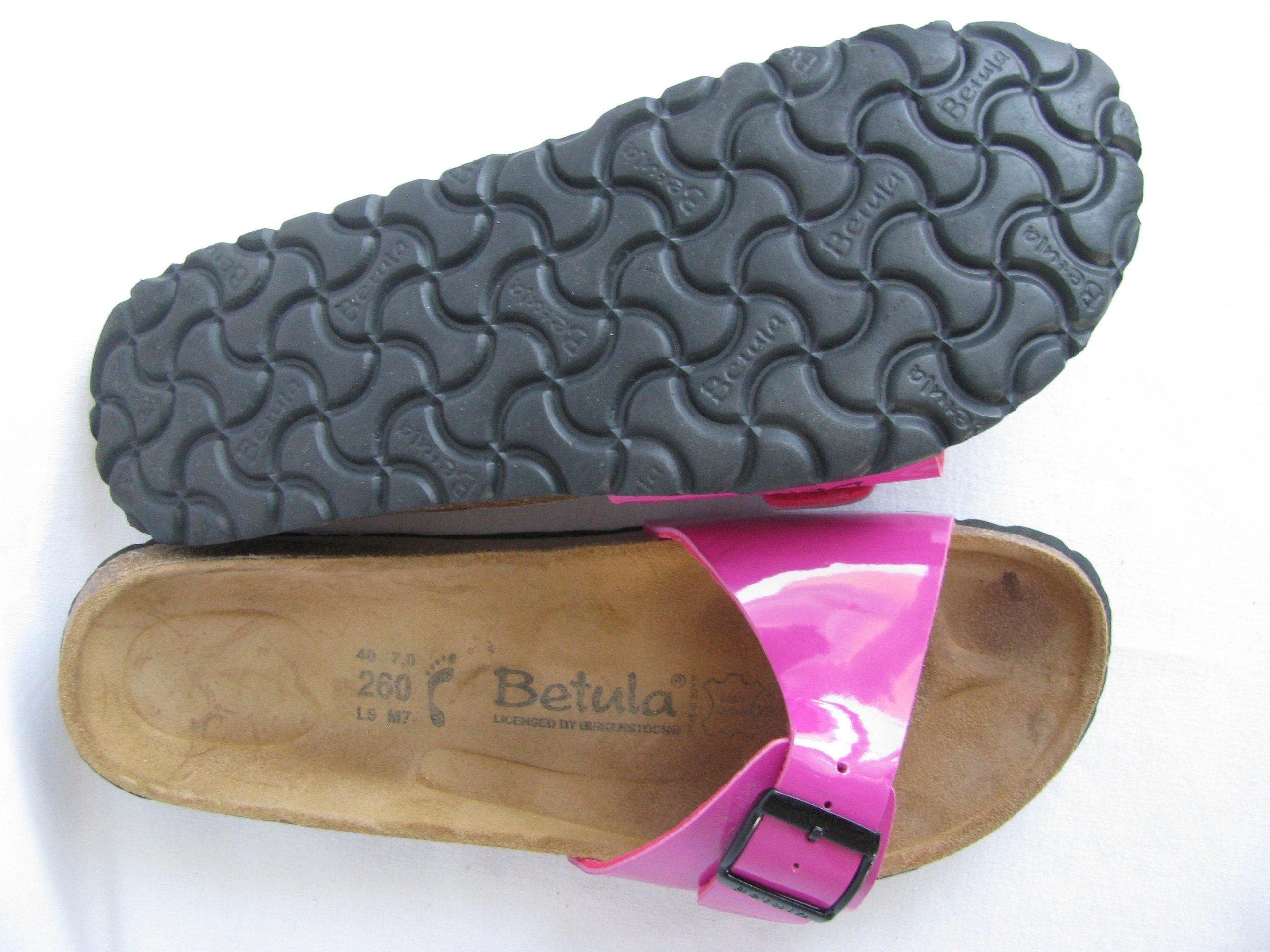 3fbf9dc0d25d1 BETULA by BIRKENSTOCK komfortowe klapki 40 (26cm) - 7326920632 ...