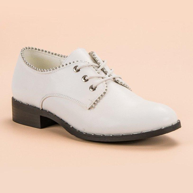 Biale letnie sneakersy GUESS ażurowe trampki platforma 38