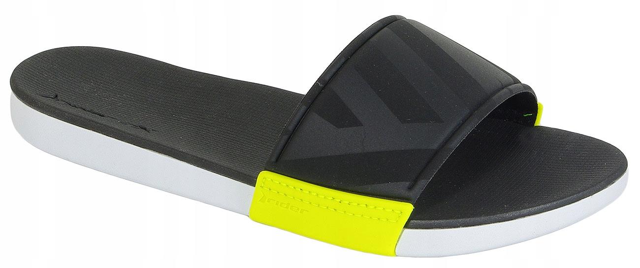 Rider Rx Slide Fem White/Black/Green klapki 35,5