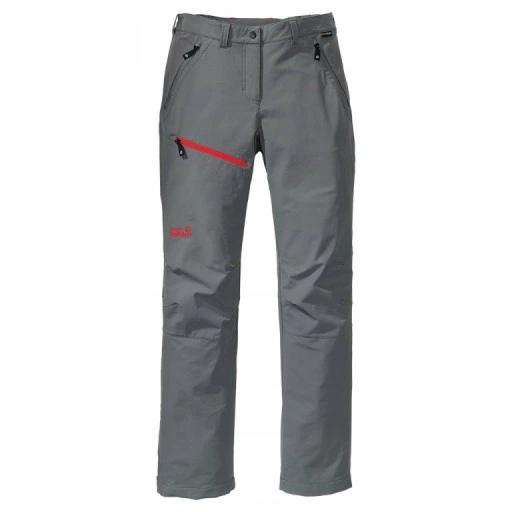 Spodnie trekkingowe damskie Jack Wolfskin szare 40