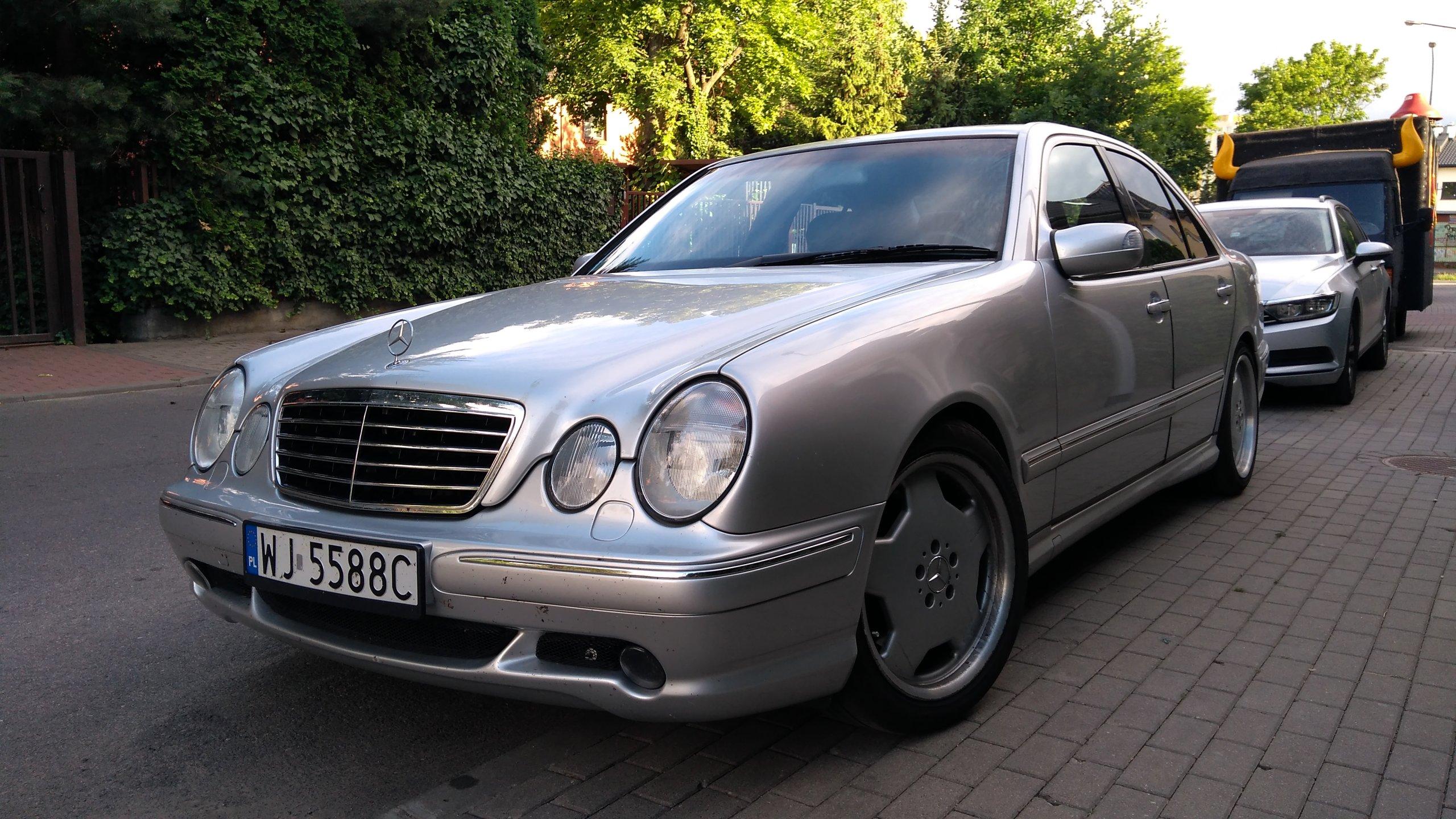 Mecedes Benz W210 E55 AMG 70 tkm bezwypadkowy