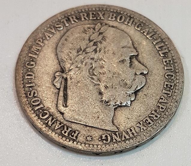 1 KORONA 1900 r AUSTRO-WĘGRY