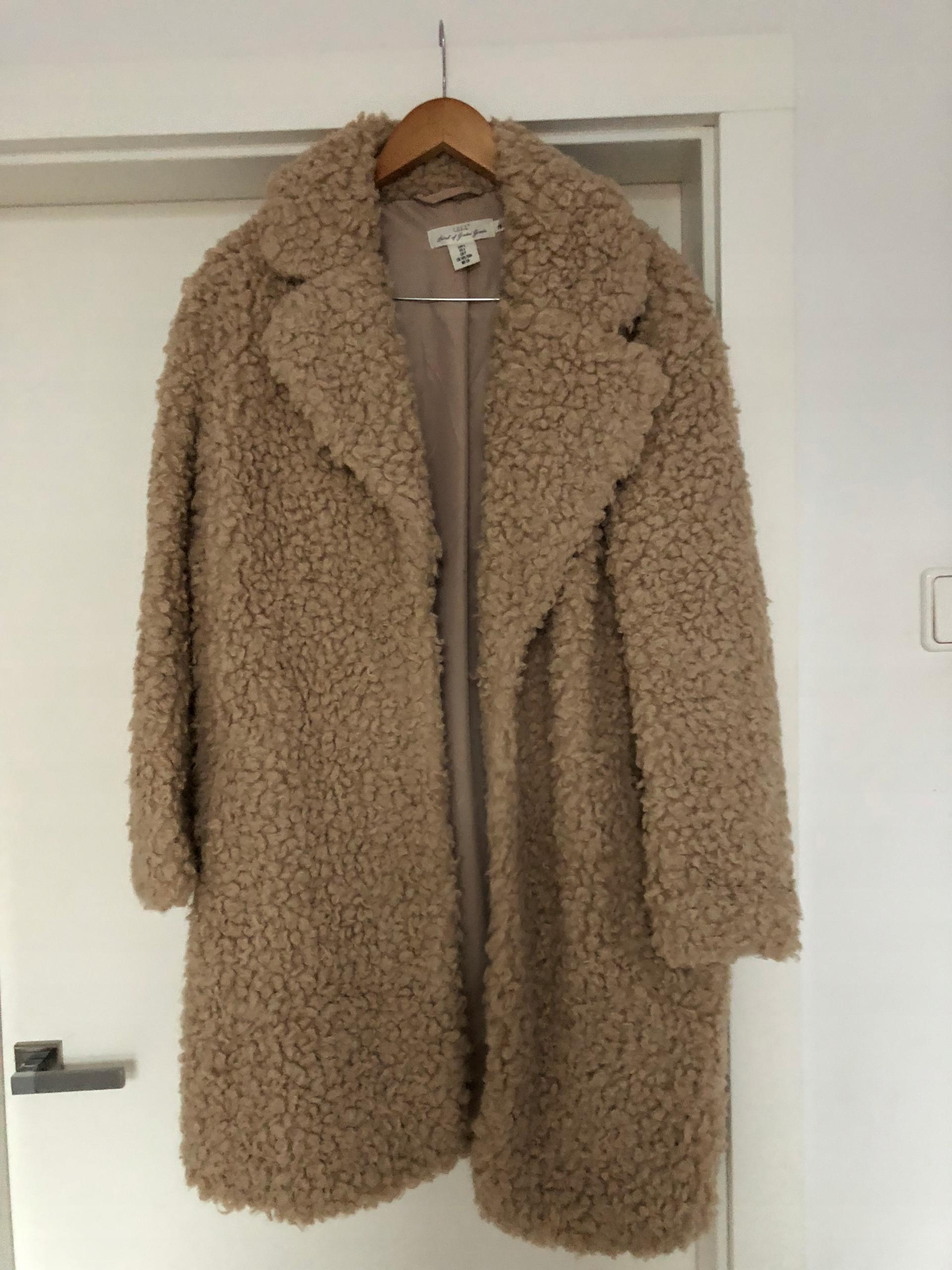 Płaszcz futro H&M