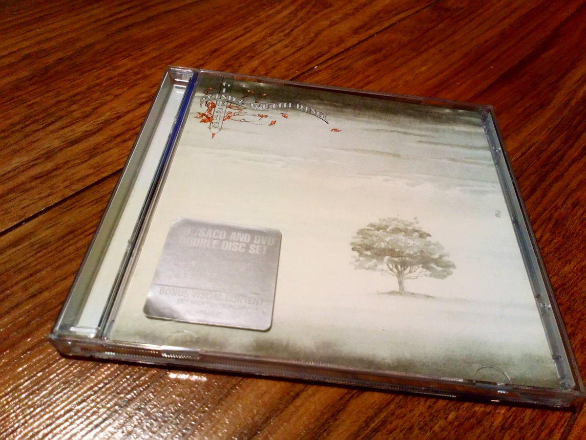 GENESIS WIND & WUTHERING SACD DVD (5.1) MULTI