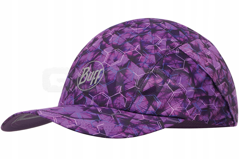 BUFF PRO RUN CAP składana czapka z daszkiem Purple