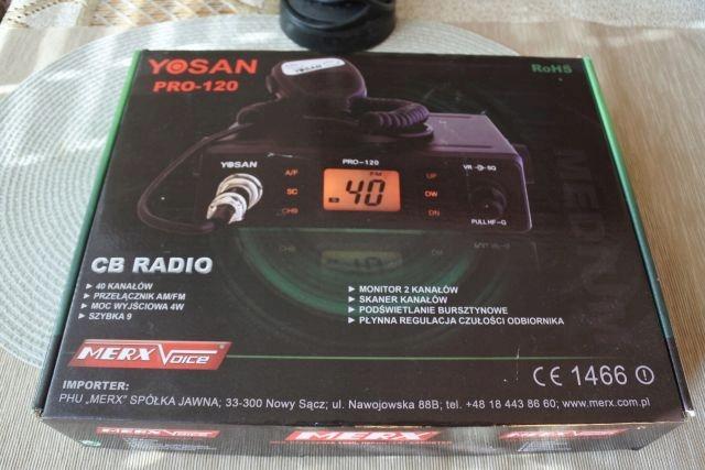 CB RADIO YOSAN PRO 120+ Antena