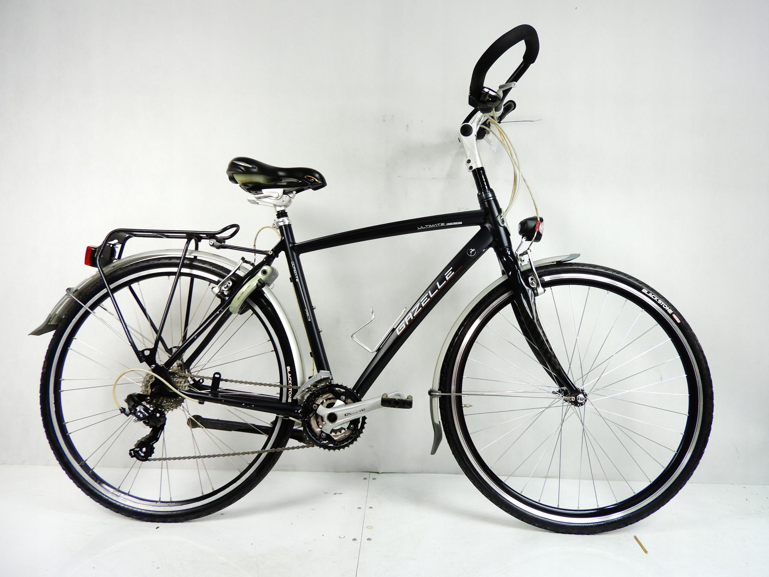 Aluminiowo karbonowa GAZELLE ULTIMATE 28'' Deore !