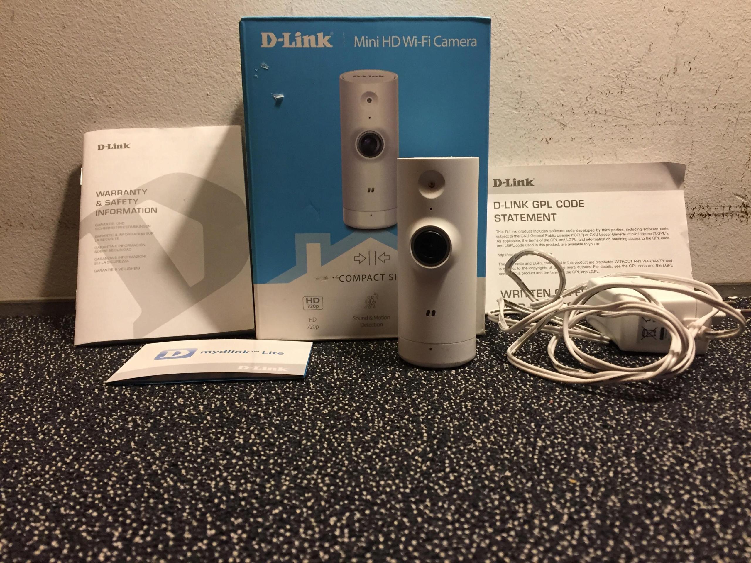 KAMERA WiFi D-LINK DSC-8000LH, KRK
