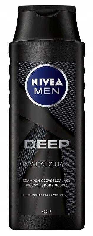 NIVEA Men Szampon DEEP rewitalizujący for men 400