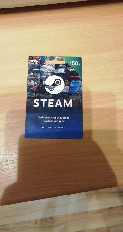 Doładowanie steam 150zl
