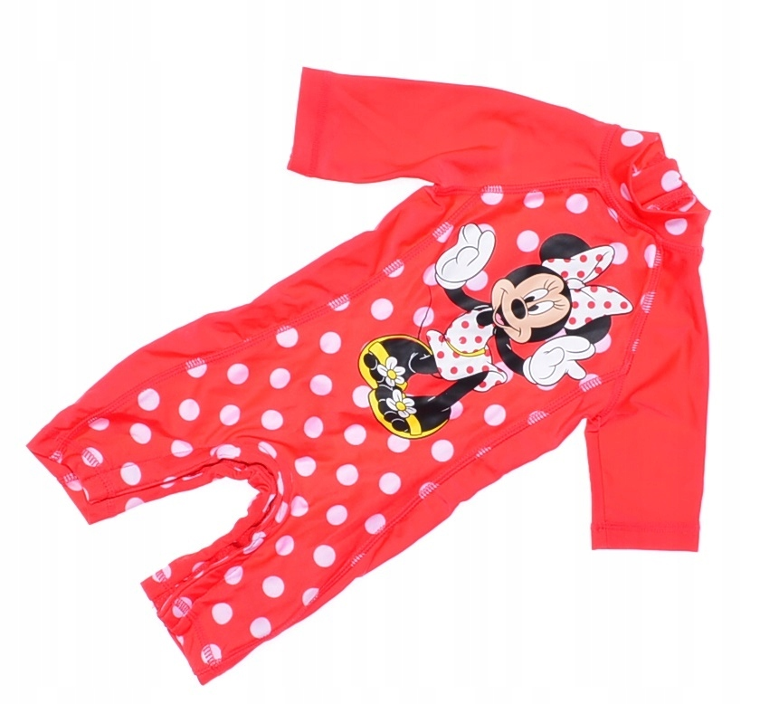 6122-82 DISNEY MYSZKA MINNIE.. n#s KOMBINEZON r.56