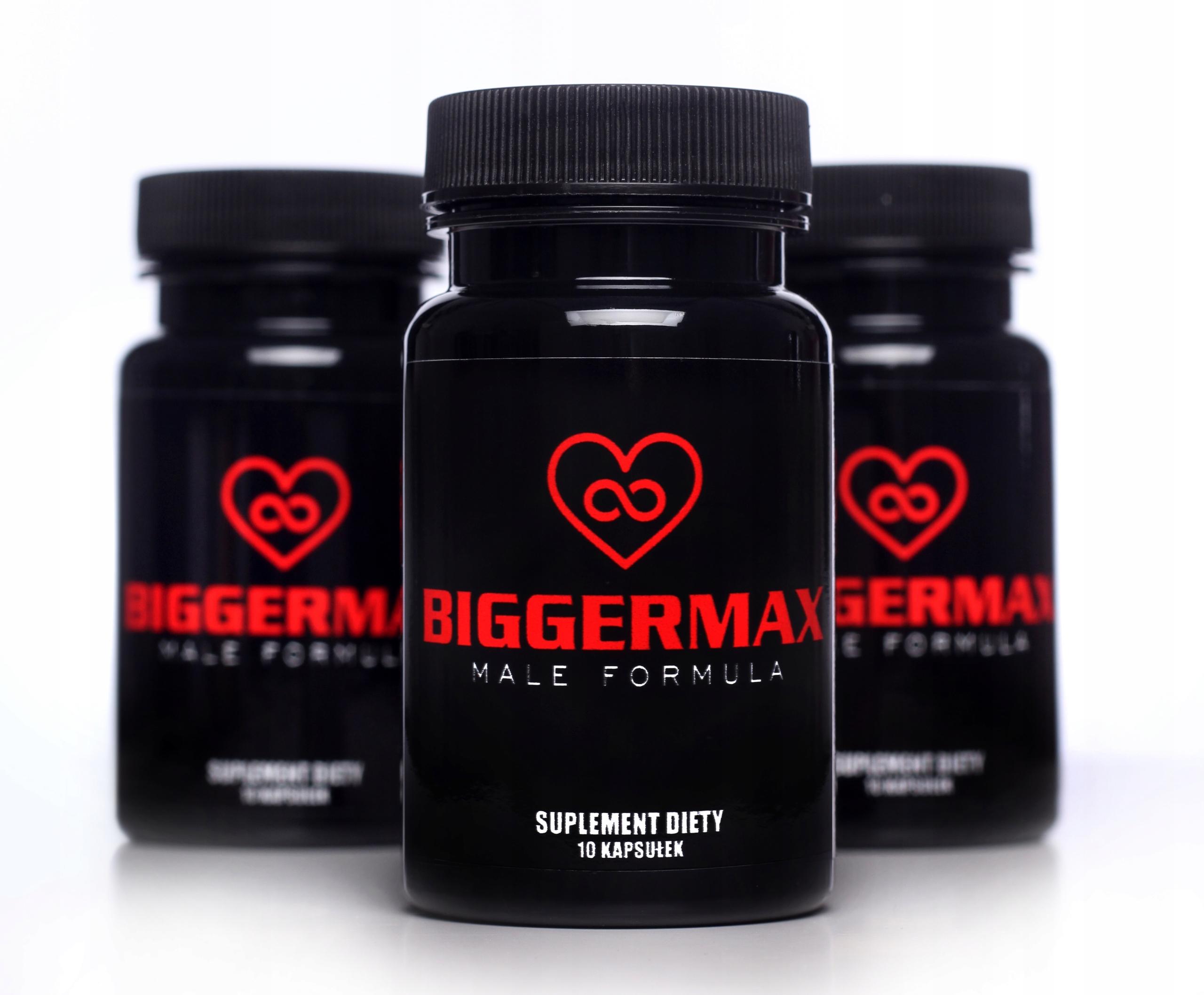 BIGGERMAX potencja erekcja libido wzwód viagr
