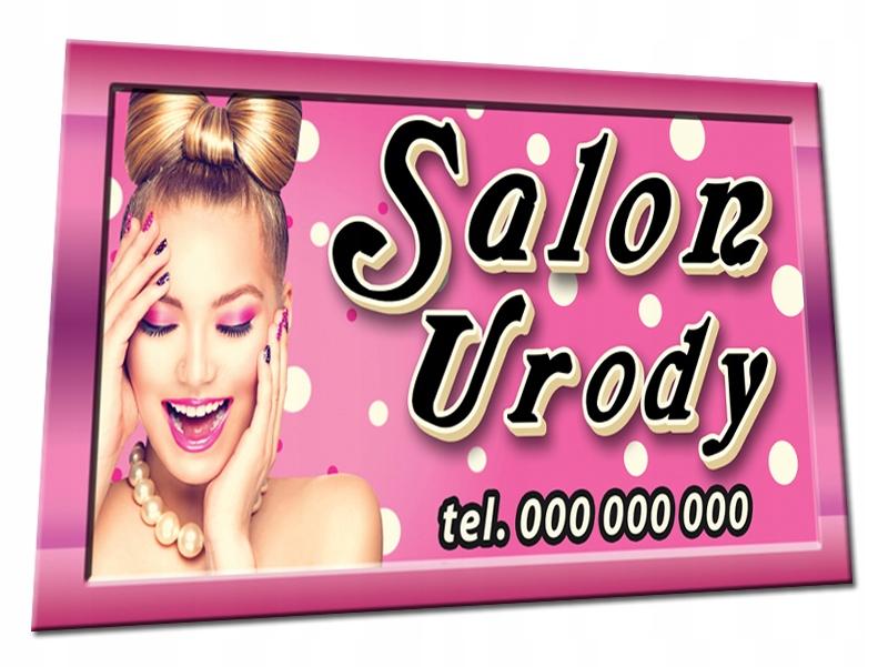 Baner Reklamowy 2x1 Fryzjer Kosmetyka Uroda Szyld 7025358248