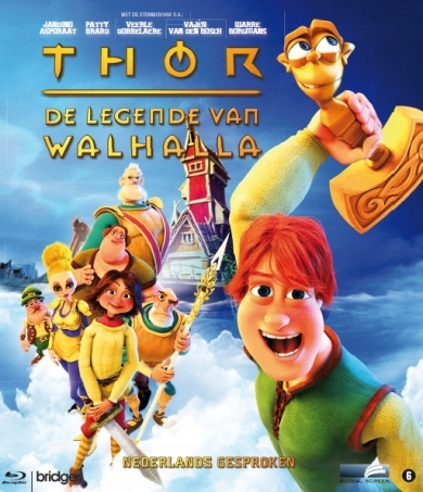 BLU-RAY Animation - Thor-Legende Van.. -3D- .. Wal