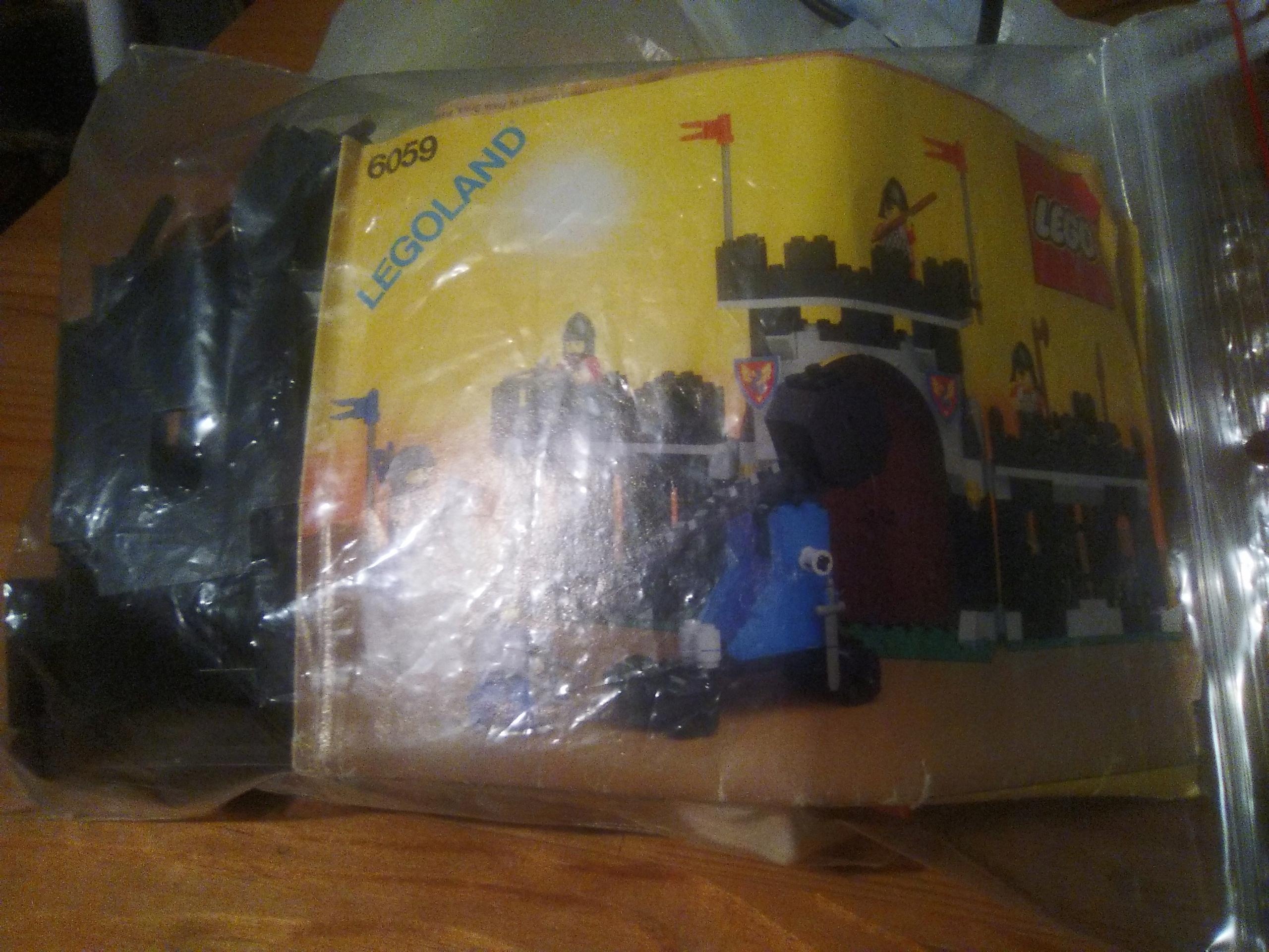 6059 zestaw lego kompletny bez pudełka