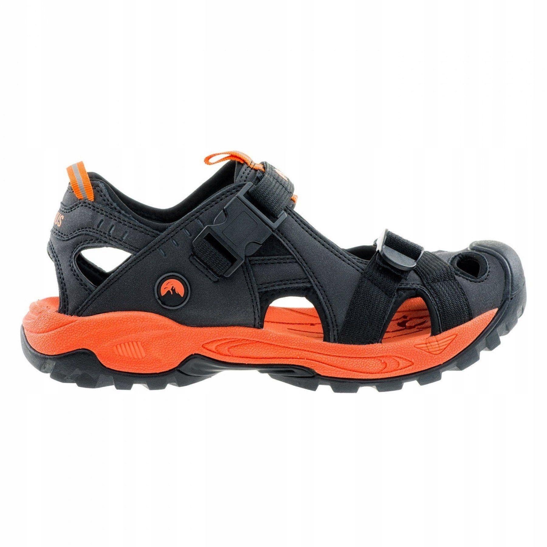 Sandały męskie - Elbrus Gatsen Black/ Orange r. 45