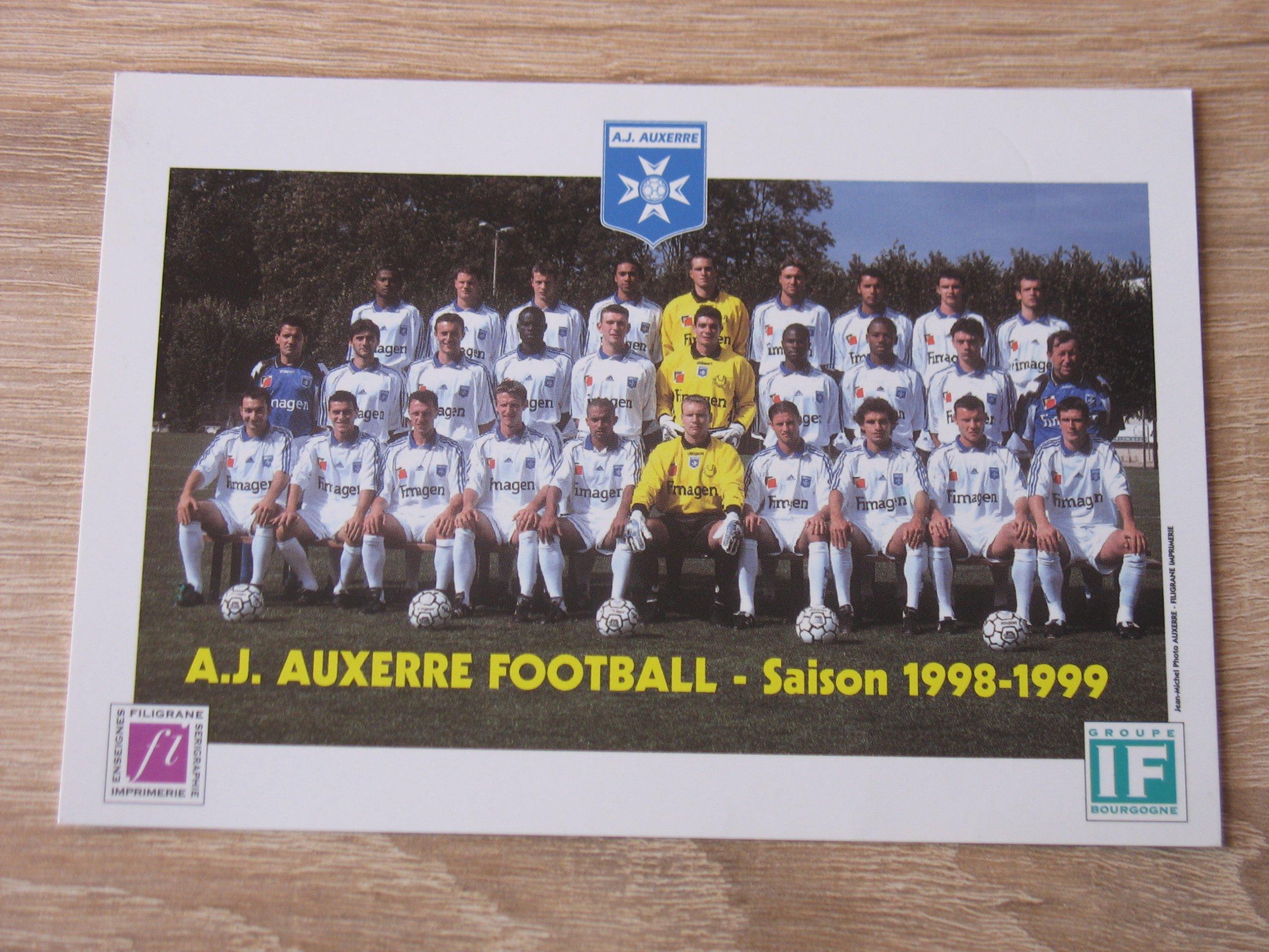 Piłka nożna - fotos zespołu AJ Auxerre