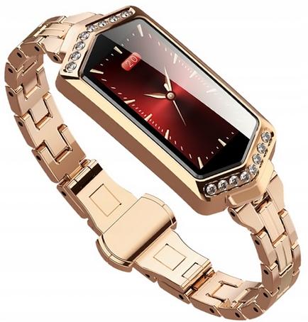 SMARTWATCH Klasyczny Zegarek Damski - 4 KOLORY