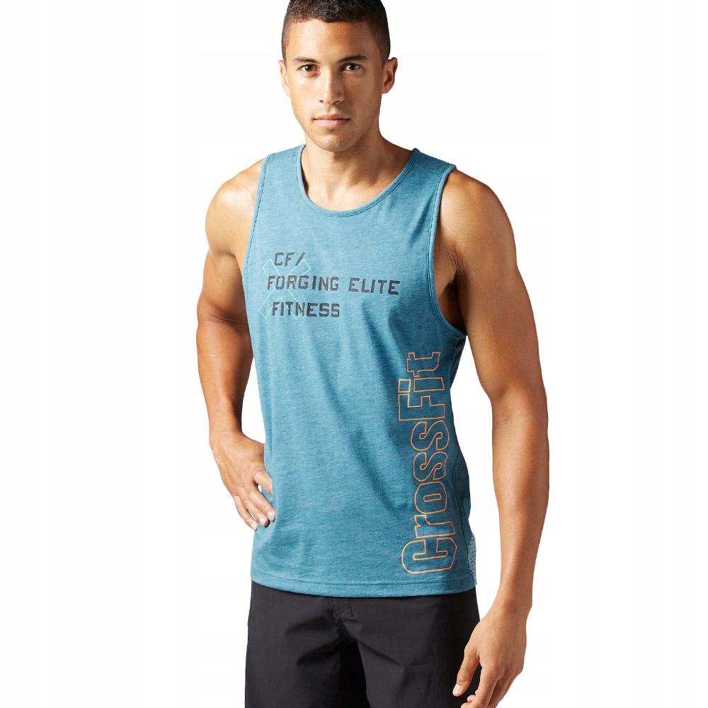 Koszulka Reebok CrossFit męska bez rękawów XS