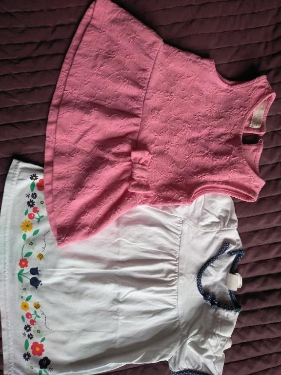 2 szt. sukieneczki 0-3 mce Zara