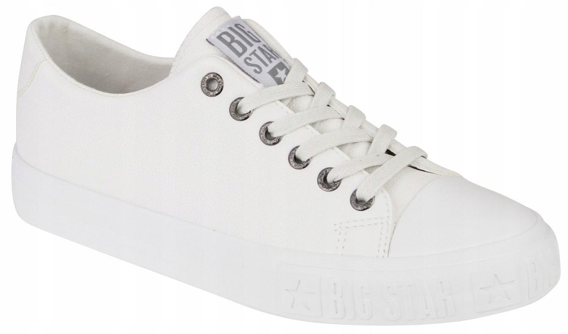 TRAMPKI damskie buty BIG STAR EE274248 białe 38