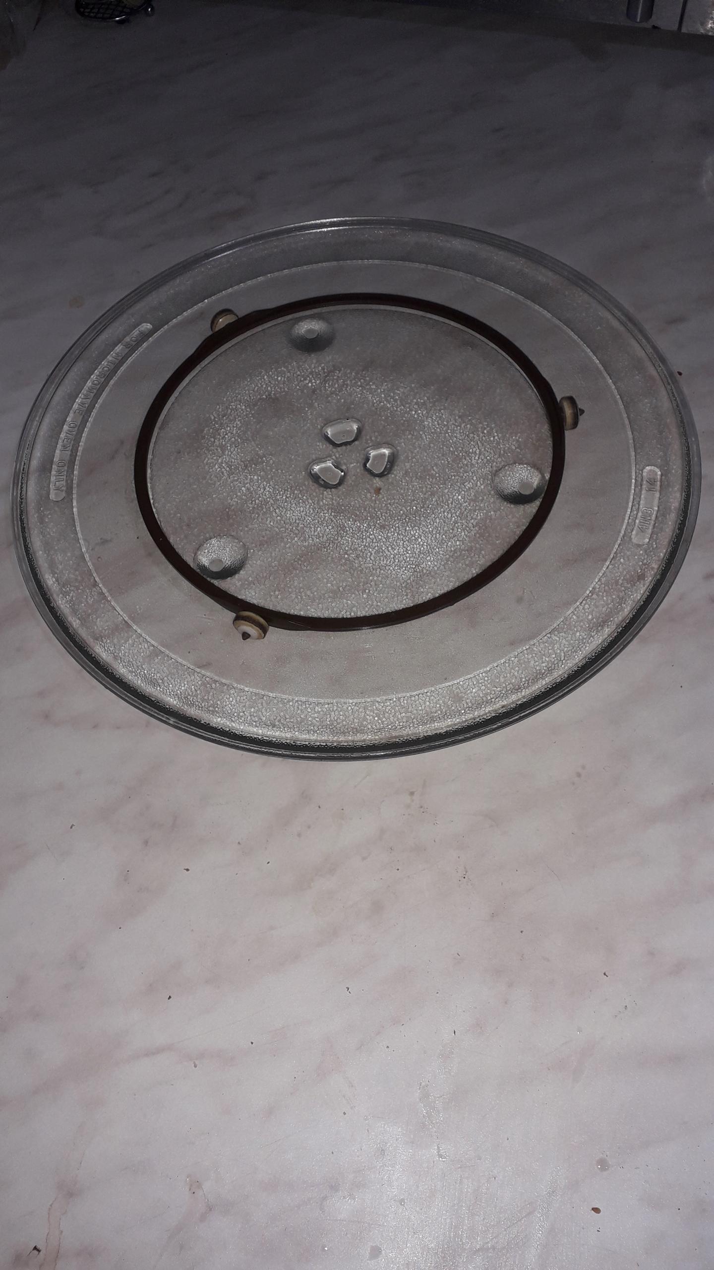 Talerz mikrofalówki BOSCH, SIEMENS 34 cm 00354974
