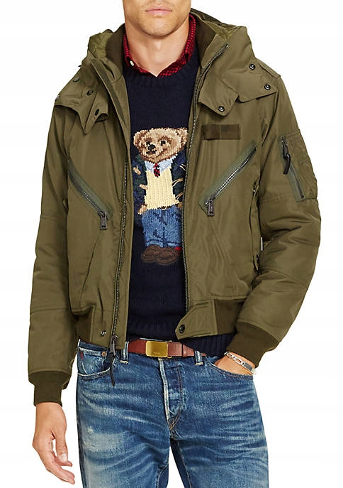 Kurtka Polo Ralph Lauren Bomber Flight Roz. M