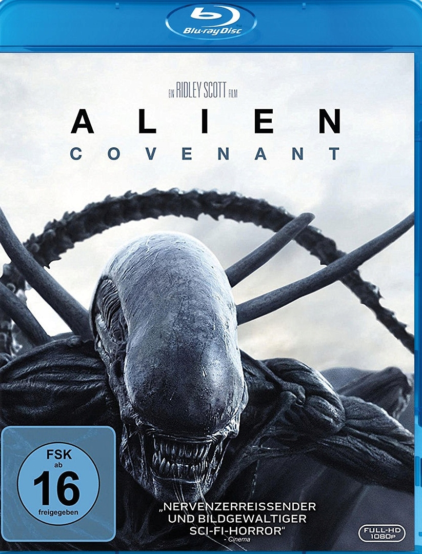 Alien: Covenant Blu-ray + Gratis