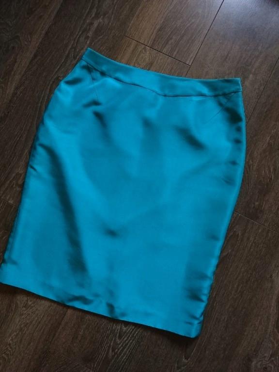 L. K. Bennett 42 100% jedwab-śliczna spódnica