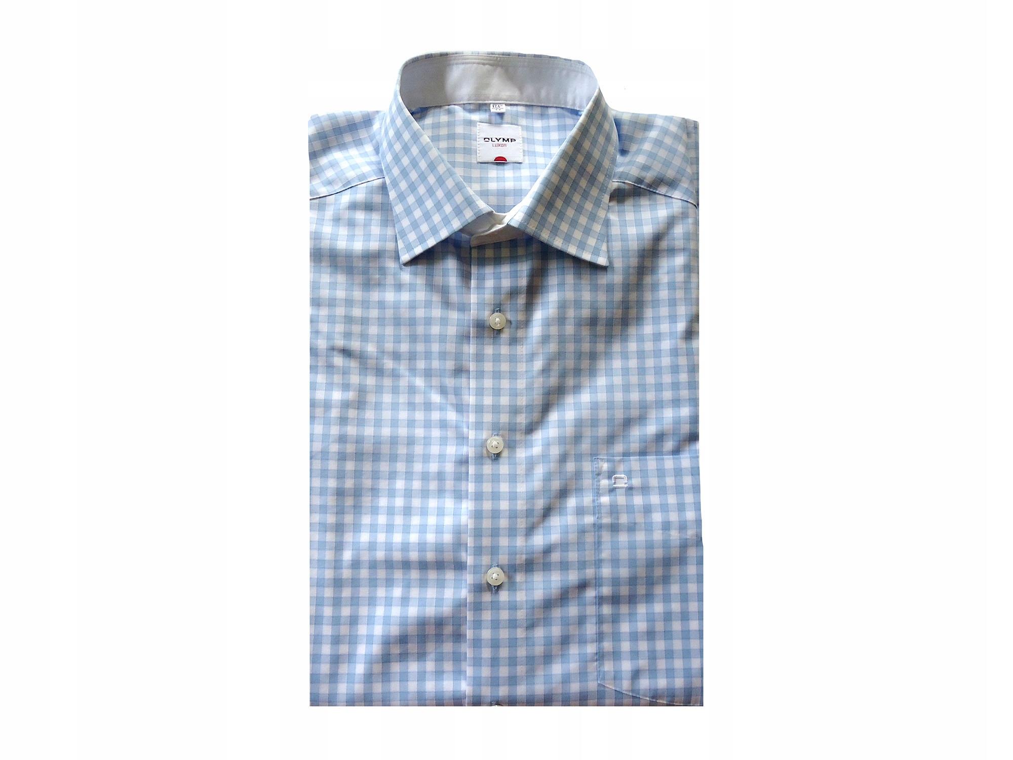 OLYMP LUXOR bawełniana koszula w kratkę XXL