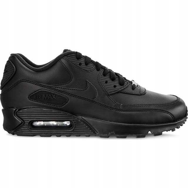 Nike Sportowe Męskie Czarne r.42,5