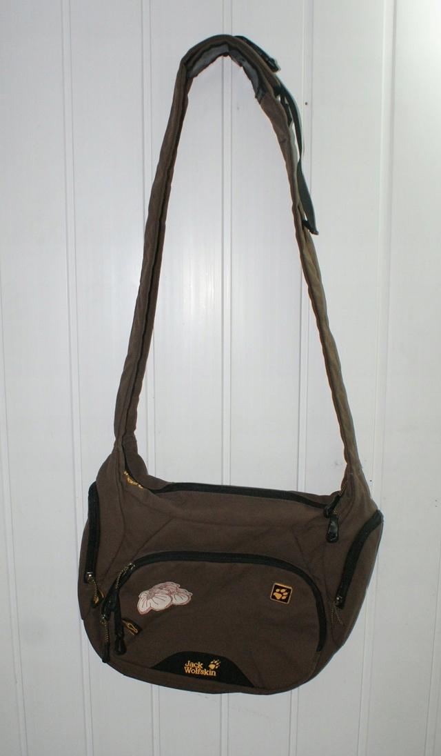 JACK WOLFSKIN torba torebka miejska turystyczna