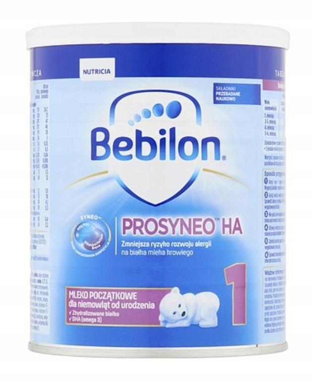 Bebilon HA 1 Prosyneo 12 szt x 400g