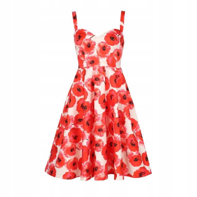 sukienka MOHITO maki rozkloszowana