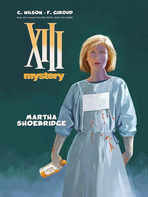 XIII MYSTERY 8 MARTHA SHOEBRIDGE komiks twardy