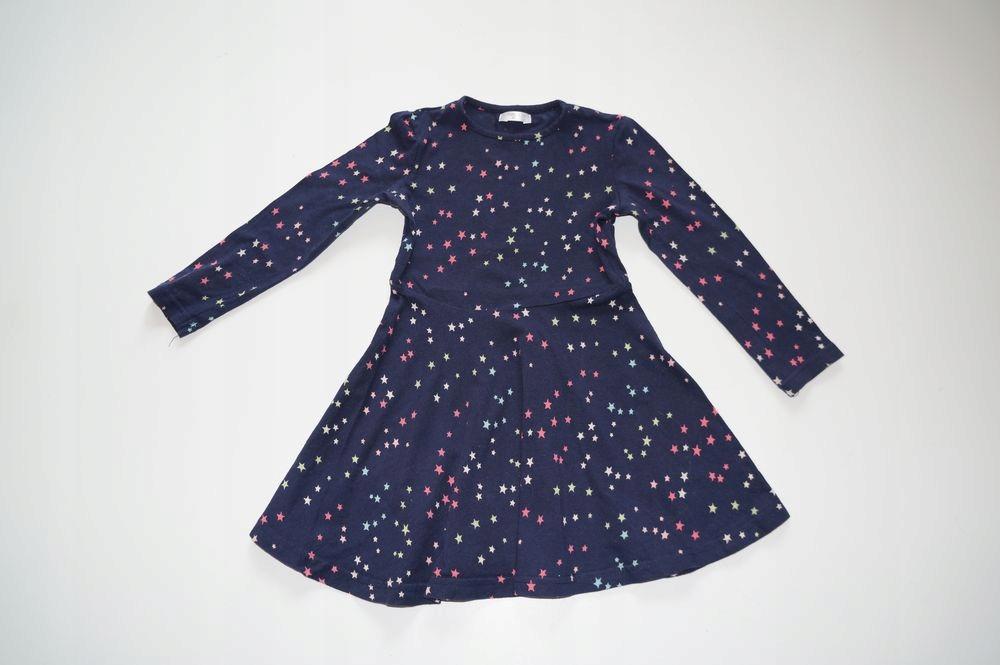Pepco śliczna sukienka w gwiazdki 98cm