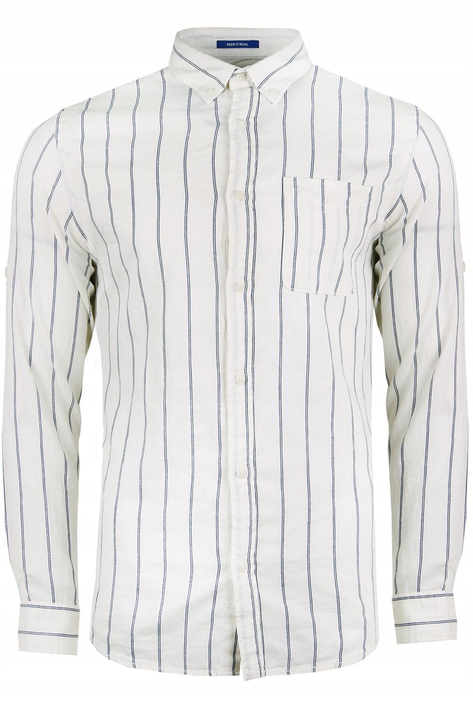 JACK&JONES lniana koszula 12152530-ENS. r XL