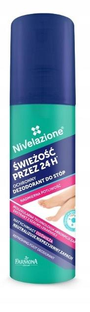 Nivelazione dezodorant do stóp Świeżość 24h 125ml
