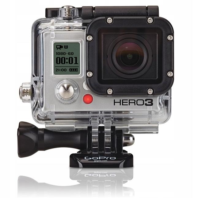 GoPro HERO3 BLACK +AKCESORIA 3 3+ 4 4K go pro