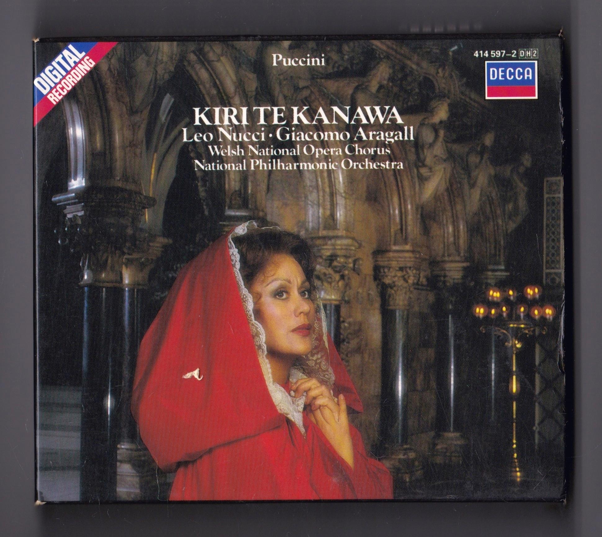 Puccini Tosca Solti Kiri Te Kanawa Nucci Aragall