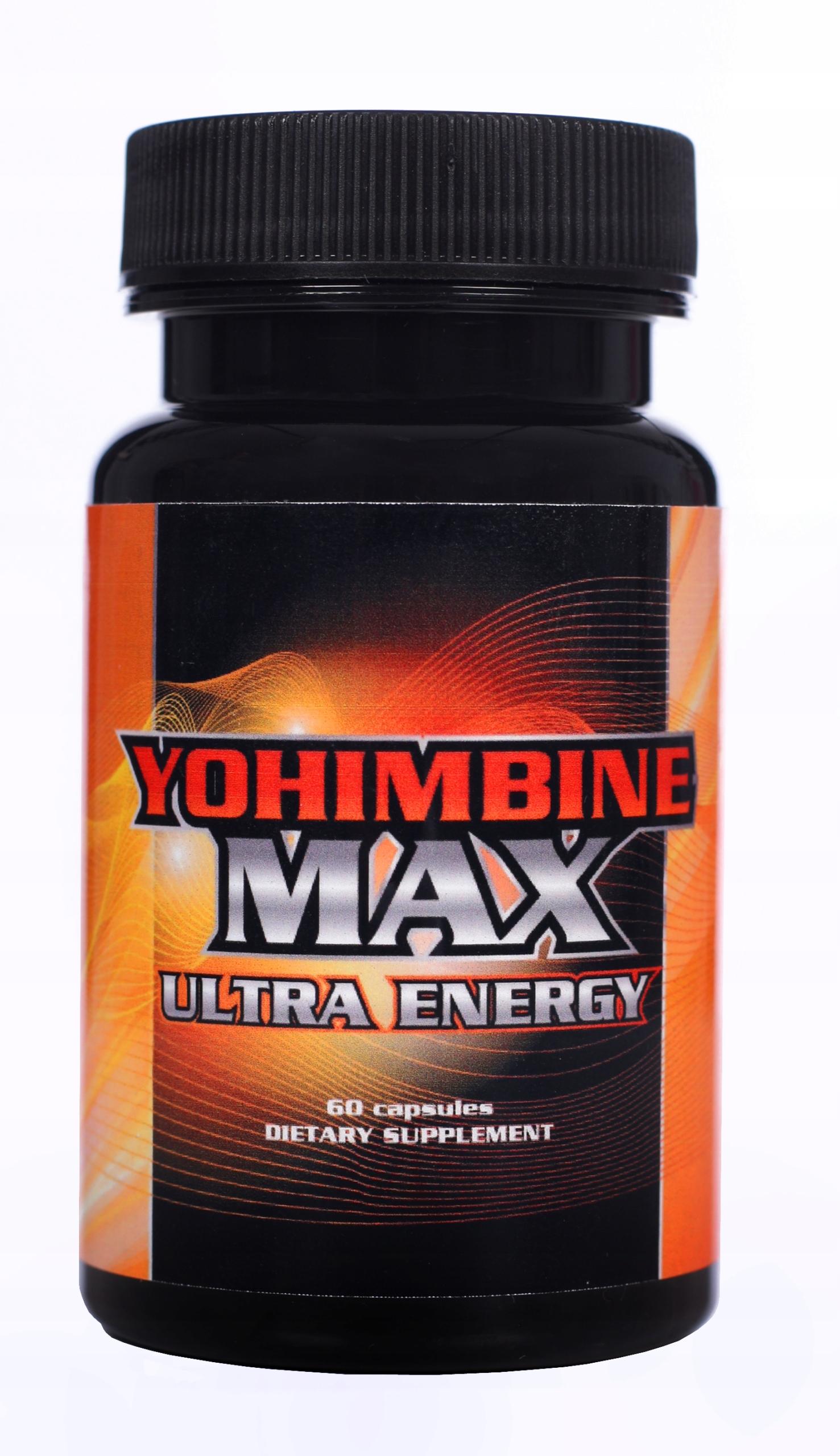 YOHIMBINE MAX ULTRA ENERGY johimbina HCL joha 60k.
