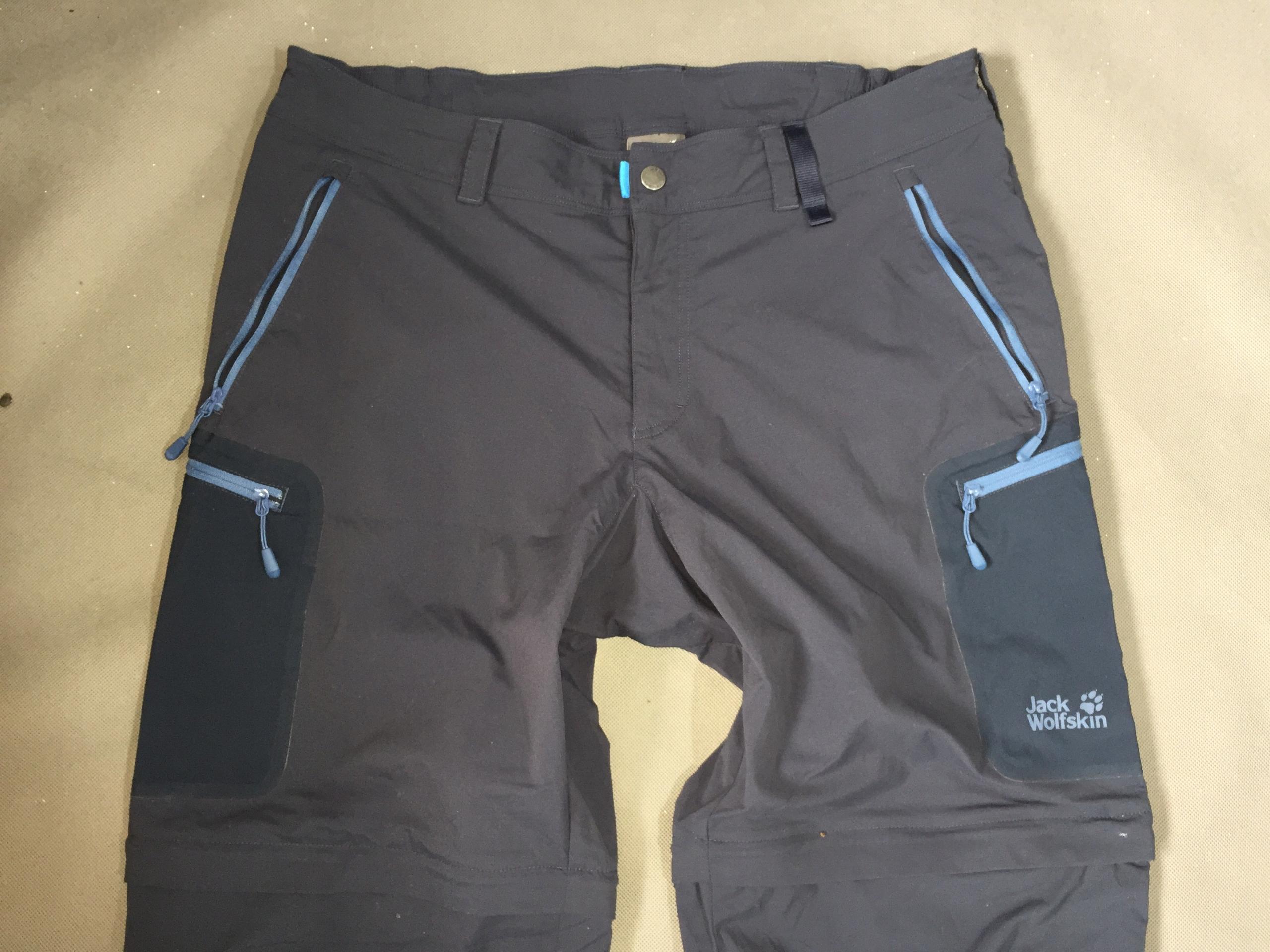 JACK WOLFSKIN FlexShield Spodnie Trekkingowe-XL