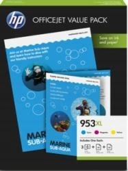 HP INC. 953XL 3-pack CMY 1CC21AE