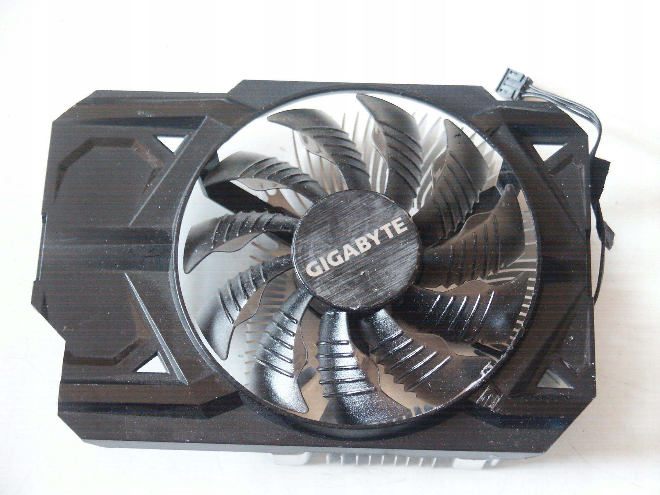Chłodzenie karty graficznej Gigabyte WindForce P43